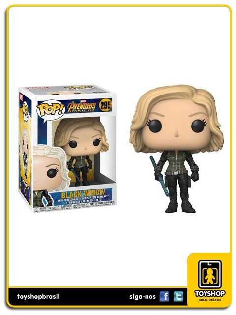 Marvel Avengers Infinity War Black Widow 295 Pop Funko