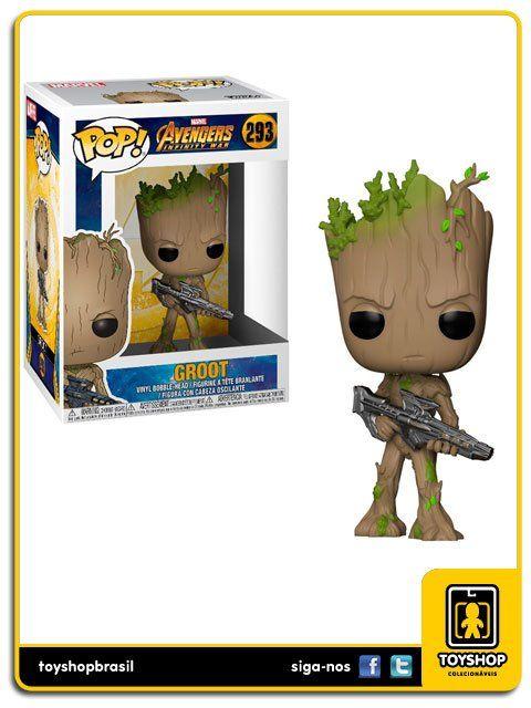 Marvel Avengers Infinity War Groot 293 Pop Funko