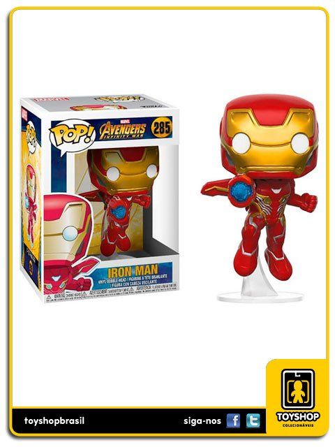 Marvel Avengers Infinity War Iron Man 285 Pop Funko