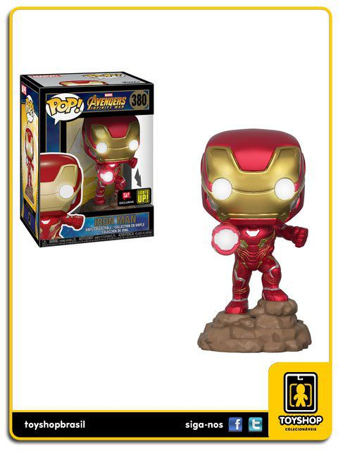 Marvel Avengers Infinity War Iron Man Exclusivo 380 Pop Funko