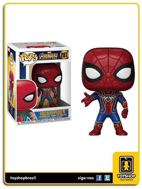 Marvel Avengers Infinity War Iron Spider 287 Pop Funko