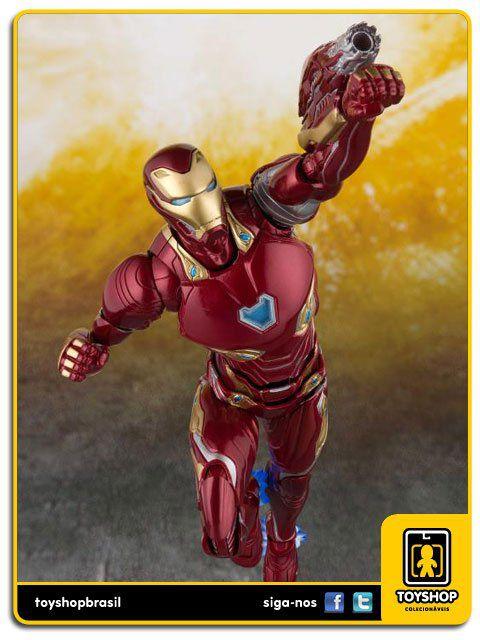 Marvel Avengers Infinity War S H Figuarts Iron Man Mark L and Tamashii Stage  Bandai