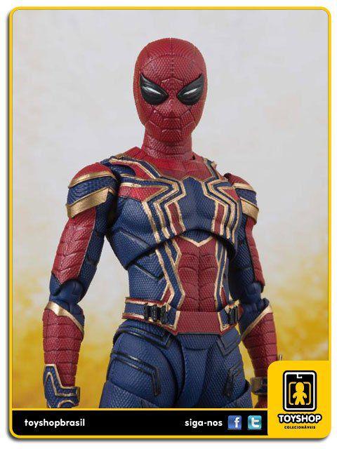 Marvel Avengers Infinity War S H Figuarts Iron Spider & Tamashii Stage Bandai
