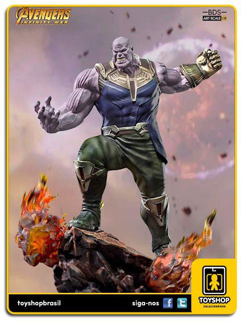 Marvel Avengers Infinity War: Thanos  1/10 - Iron Studios