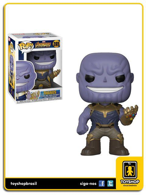 Marvel Avengers Infinity War Thanos 289 Pop Funko