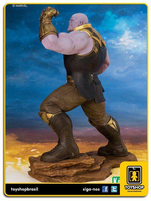 Marvel Avengers Infinity War Thanos  Art Statue 1/10 Artfx Kotobukiya