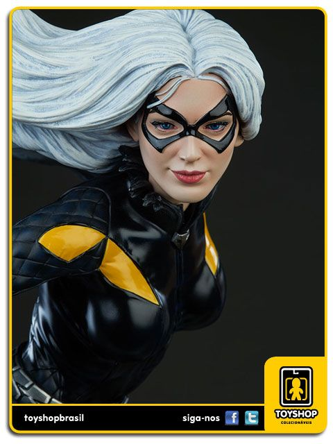 Marvel Black Cat Premium Format  Sideshow Collectibles