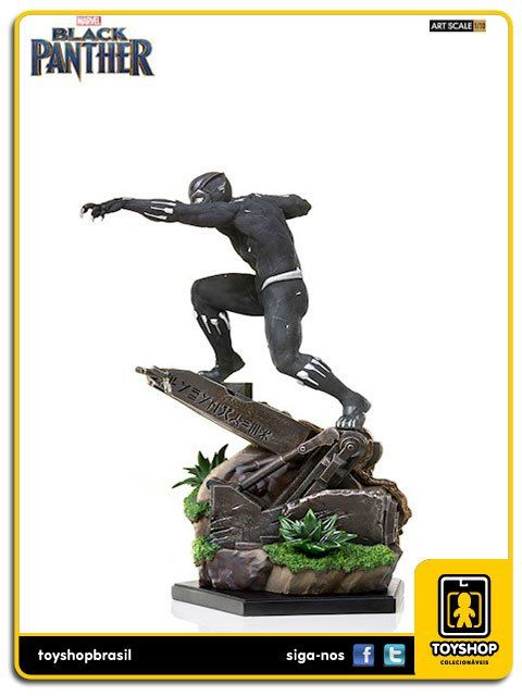 Marvel Black Panther  BDS Black Panther Art Scale 1/10  Iron Studios