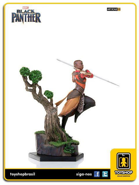 Marvel Black Panther BDS Okoye Art Scale 1/10 Iron Studios
