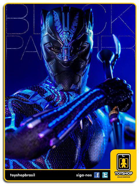 Marvel Black Panther: Black Panther 1/6 Hot Toys