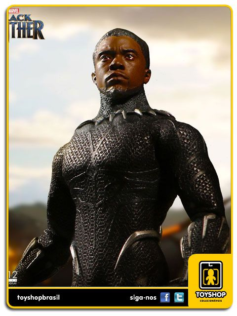Marvel Black Panther One 12 Mezco Toys