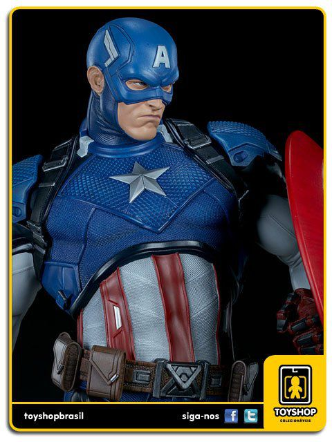 Marvel Comics: Captain America Premium Format - Sideshow Collectibles