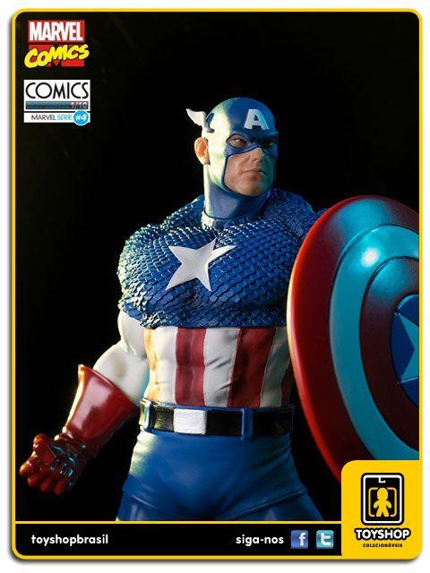 Marvel Comics Série 4 Captain America 1/10 Art Scale Iron Studios