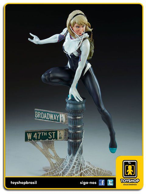 Marvel Comics Spider-Gwen by Mark Brooks - Statue Sideshow Collectibles