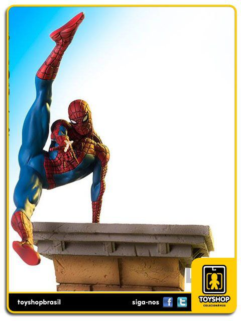 Marvel Comics Spider-Man BDS 1/10 Art Scale Rafael Albuquerque  Iron Studios