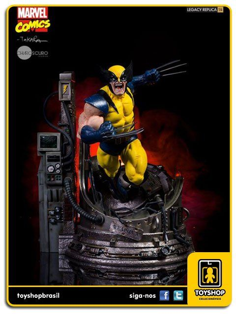 Marvel Comics Wolverine Legacy 1/4 by Marcio Takara Iron Studios