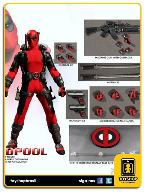 Marvel Deadpool One 12 Mezco