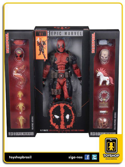 Marvel: Deadpool Ultimate  1/4 - Neca