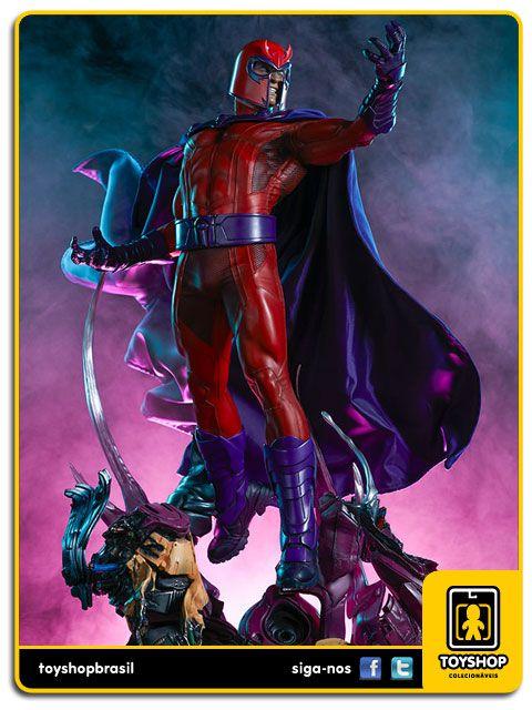 Marvel: Estátua Magneto Maquette - Sideshow