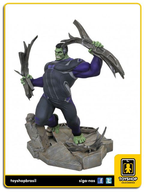 Marvel Gallery Avengers Endgame Hulk Statue Diamond