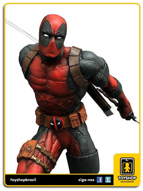 Marvel Gallery Deadpool Statue Diamond