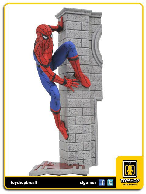 Marvel Gallery Homecoming Spider-Man Statue Diamond