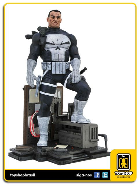 Marvel Gallery Punisher Statue Diamond