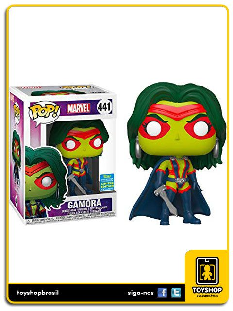 Marvel Gamora Exclusivo 441 Pop - Funko