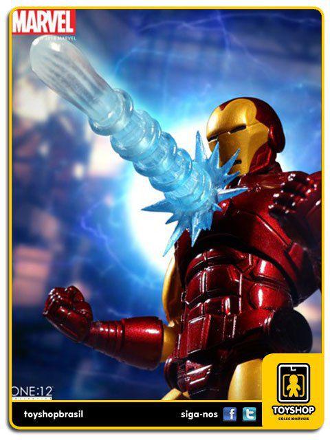 Marvel Iron Man Comics  One 12 Mezco