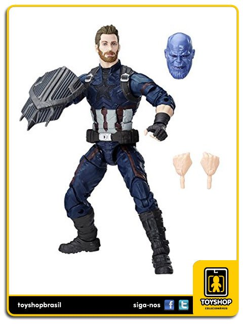 Marvel Legends Avengers Infinity War Captain America Hasbro