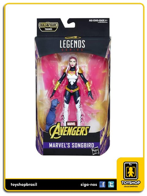 Marvel Legends Avengers Infinity War Marvel´s Songbird Hasbro