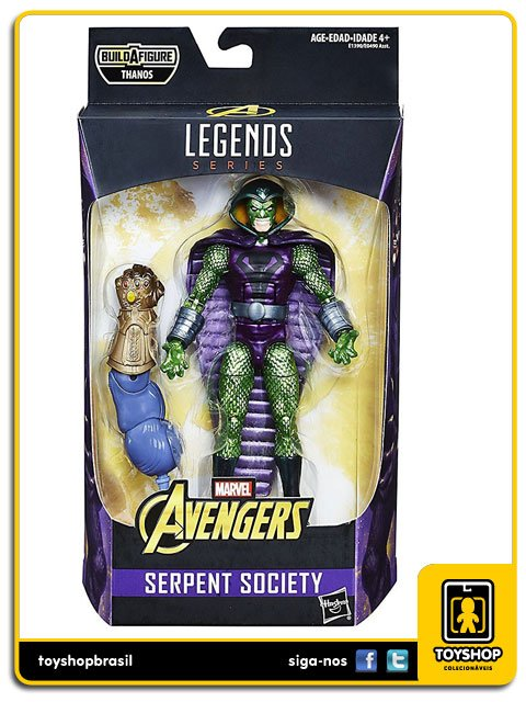 Marvel Legends Avengers Infinity War Serpent Society Hasbro