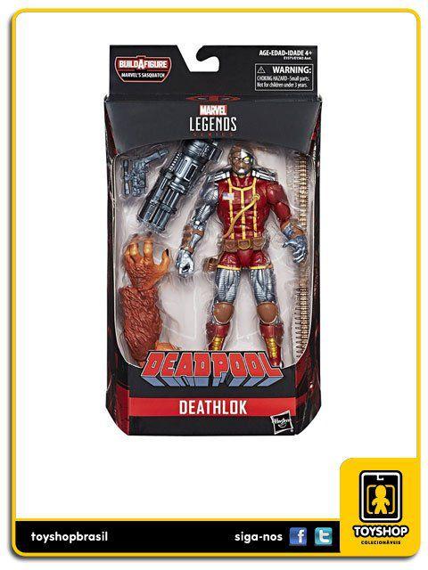 Marvel Legends Deadpool Deathlok Sasquatch Baf Hasbro