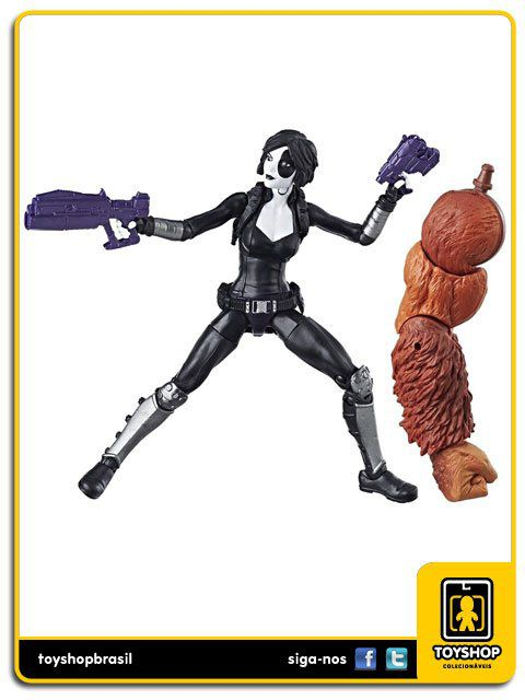 Marvel Legends Deadpool  Domino Sasquatch Baf Hasbro