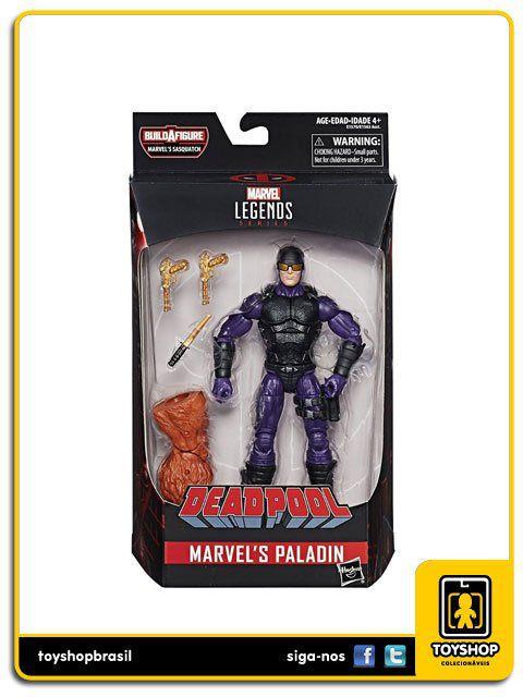 Marvel Legends Deadpool  Paladin Sasquatch Baf Hasbro