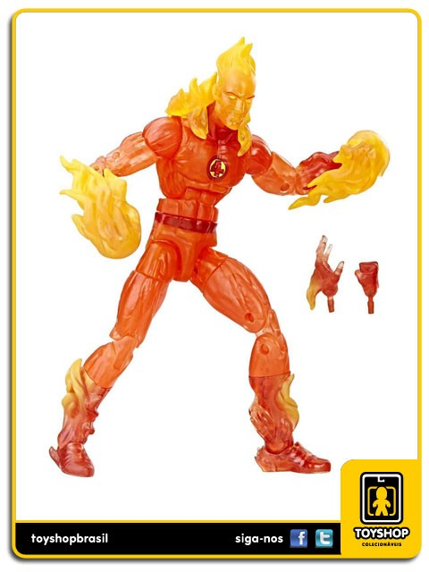 Marvel Legends Fantastic Four The Human Torch Exclusive Hasbro