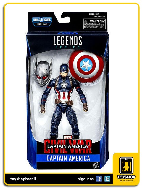 Marvel Legends Giant Man Captain America  Hasbro