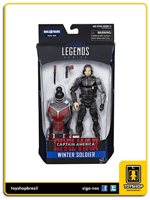 Marvel Legends Giant Man Winter Soldier Hasbro