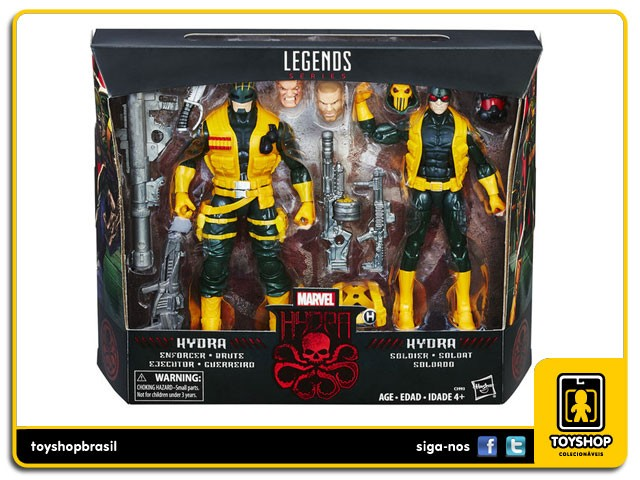 Marvel Legends Hydra Soldiers Exclusivo Pack 2 Figuras  Hasbro