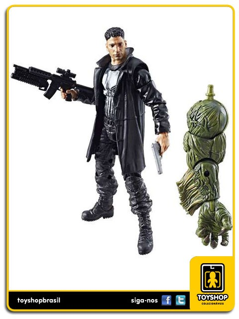 Marvel Legends Man-Thing Punisher Hasbro