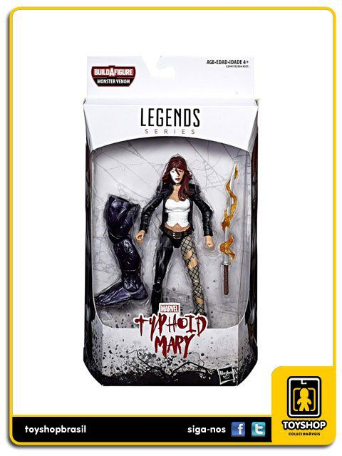 Marvel Legends Marvel´s Typhoid Mary Baf Venom Hasbro