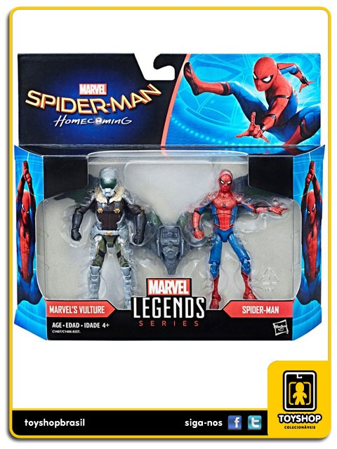 Marvel Legends Marvel´s Vulture & Spider-Man Pack 2 Figuras Hasbro