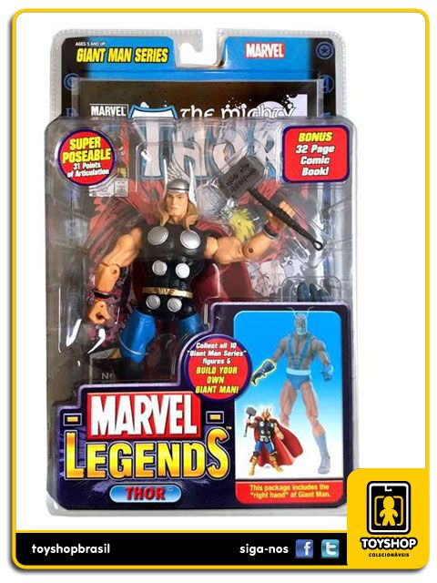 Marvel Legends Series Giant Man: Thor - Toy Biz