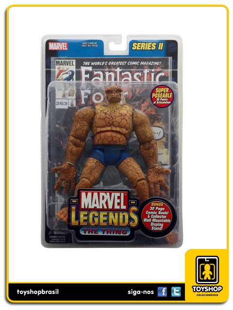 Marvel Legends Series II: The Thing - Toy Biz