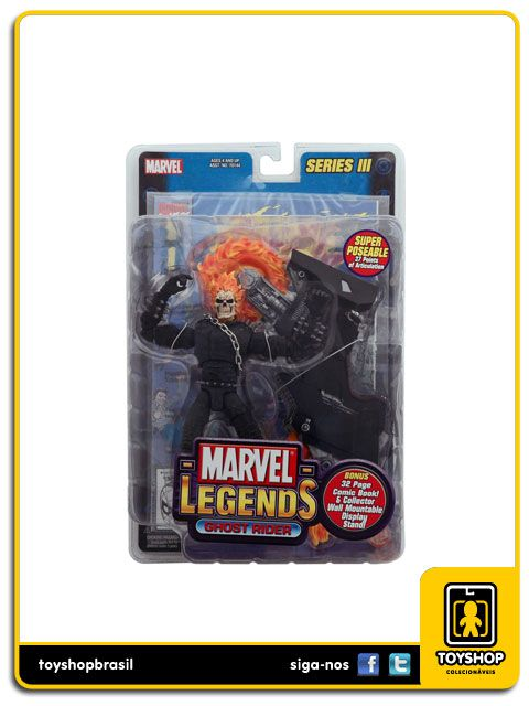 Marvel Legends Series III: Ghost Rider - Toy Biz