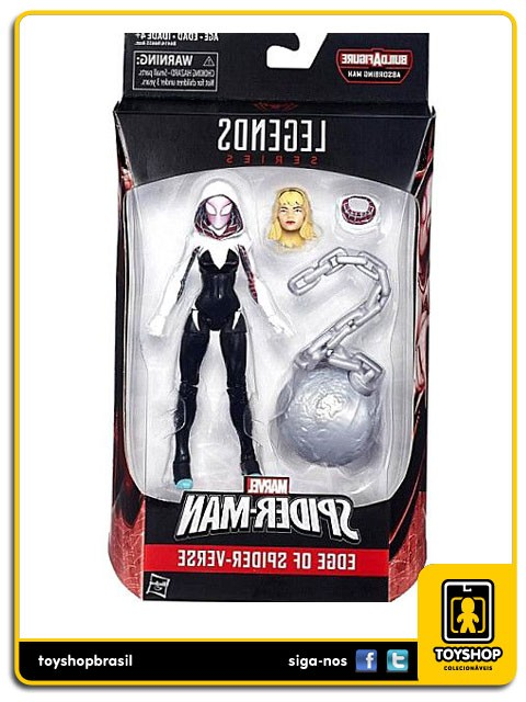 Marvel Legends Spider-Man Spider-Gwen Absorbing Man Baf Hasbro