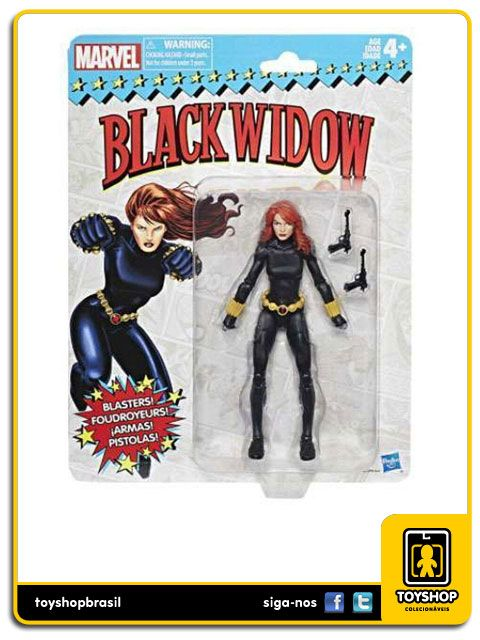 Marvel Legends Vintage Black Widow Hasbro