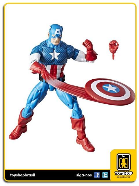 Marvel Legends Vintage Captain America Hasbro
