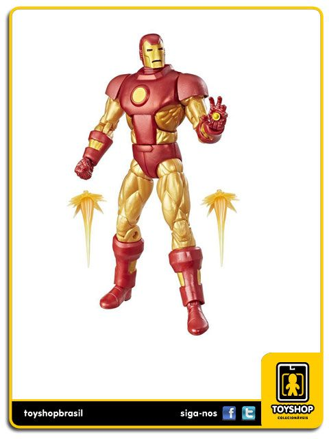 Marvel Legends Vintage Iron Man Hasbro