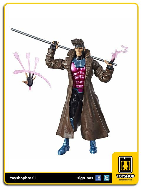 Marvel Legends X-Men Gambit Caliban Baf Hasbro